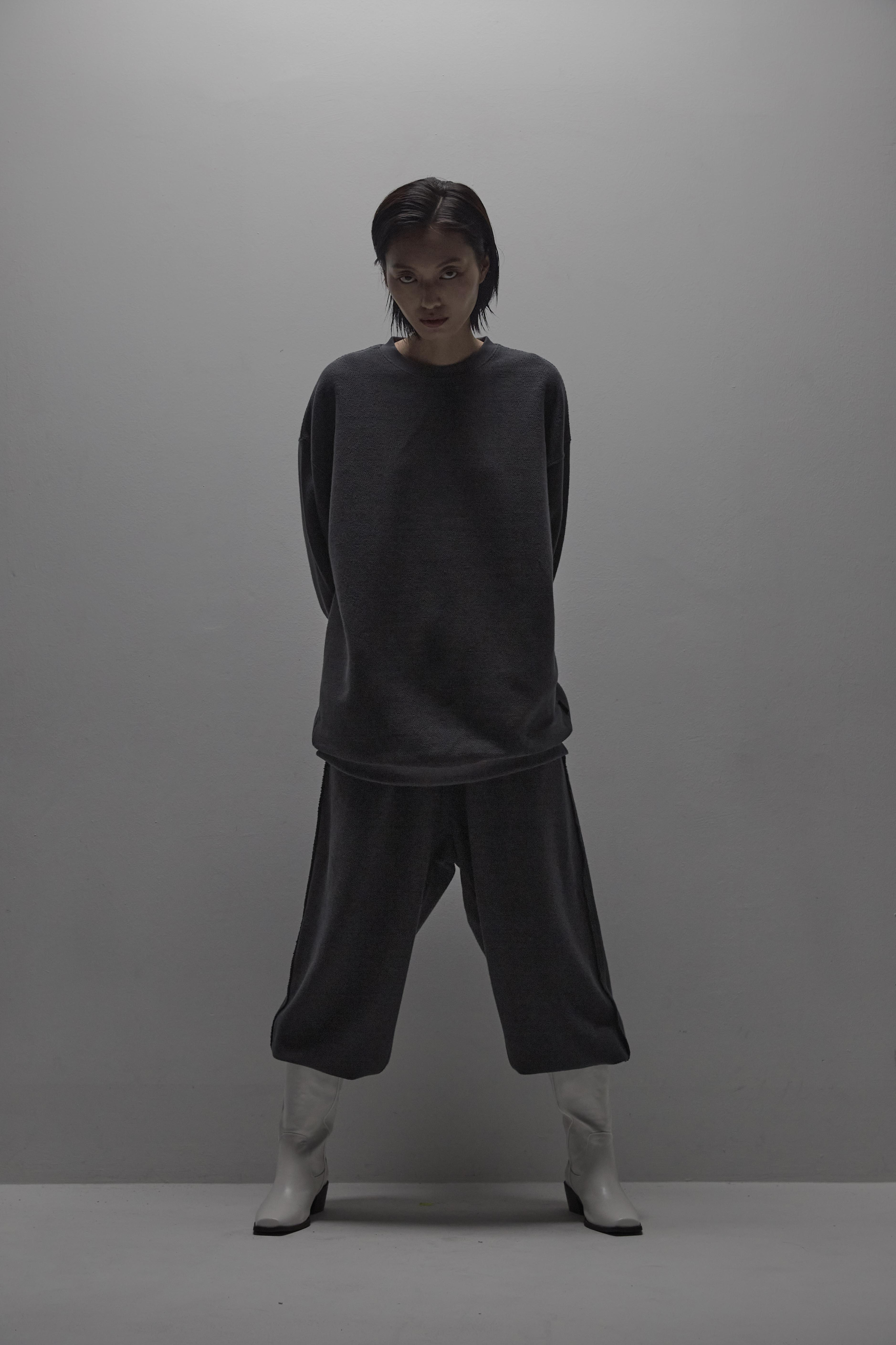 Carp pants  [dark gray]